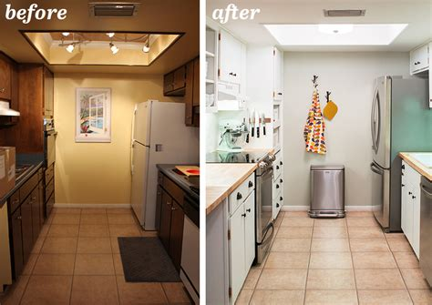 galley kitchen remodels before and after galley kitchen remodel before and after on a budget
