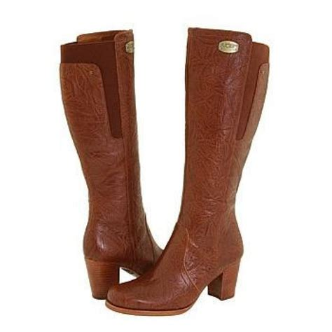 Ugg Corinth Boots 5756 C 35 Ugg Ashur 5760 Chocolate Knee High Boots For S Ps And Chocolate