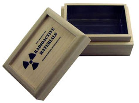 Safety Box 25l radioactive material containers