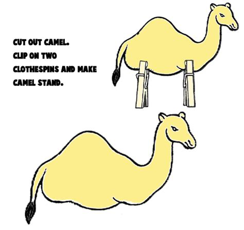 How To Make A Camel Out Of Paper - camel crafts for make your own arts and crafts