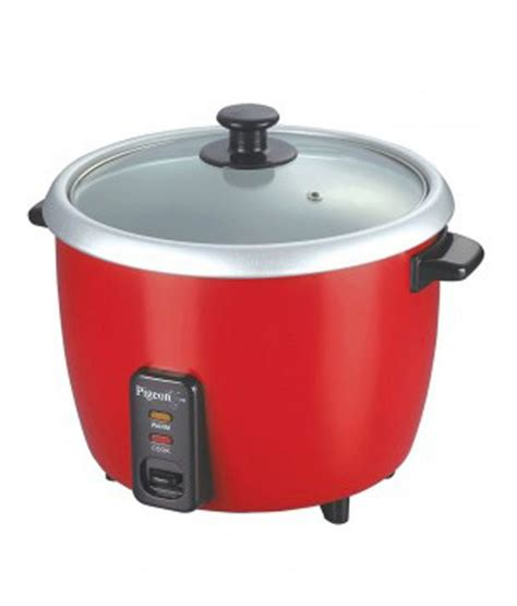 Rice Cooker 1l pigeon 1 l unlimited rice cooker white price in india buy pigeon 1 l unlimited rice