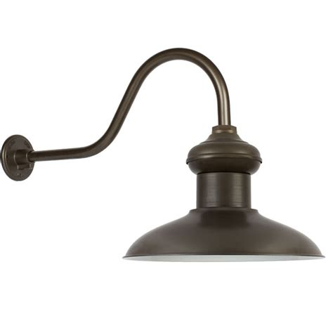 gooseneck lights outdoor lighting and ceiling fans