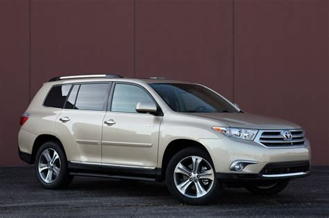 suvs with 3rd row seating toyota highlander suvs with