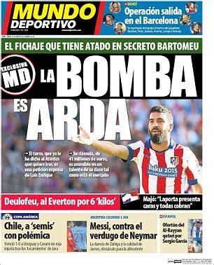 mundodeportivo mundo deportivo el diario deportivo online barcelona join race for chelsea target arda turan and