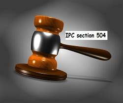 section 34 of ipc ipc section 504 intentional insult with intent to provoke
