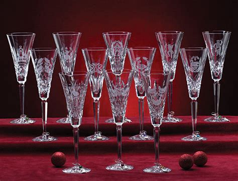 Ordinary Waterford 12 Days Of Christmas Champagne Flutes #3: 12daysflutesall.jpg