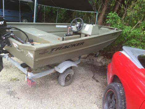 used jon boats for sale by owner tracker small boats for sale used tracker small boats