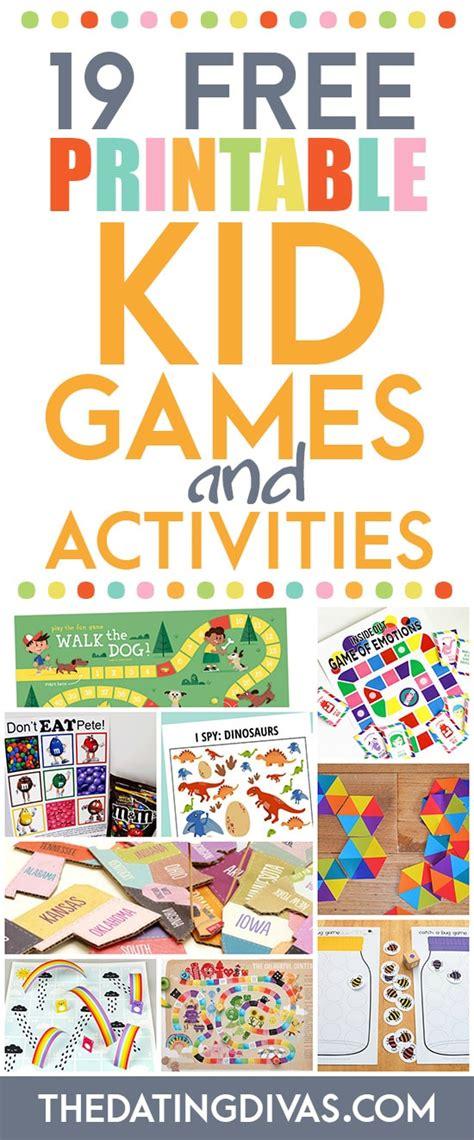 printable kid games free 101 free printables for kids the dating divas