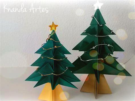 Origami Natal - knanda artes passo a passo 193 rvore de natal em origami