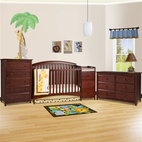 Convertible Crib Nursery Sets Cherry Dresser For Nursery Bestdressers 2017