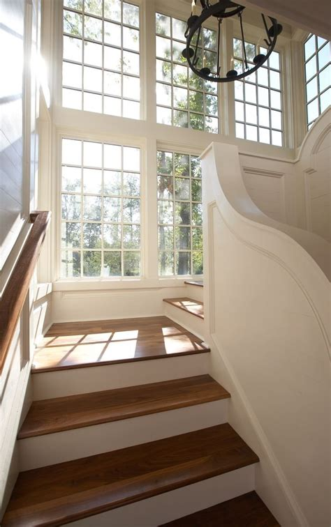 staircase window curtains small landing window ideas modern staircase design stairs