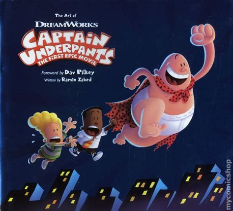 film epici comici art of captain underpants the first epic movie hc 2017