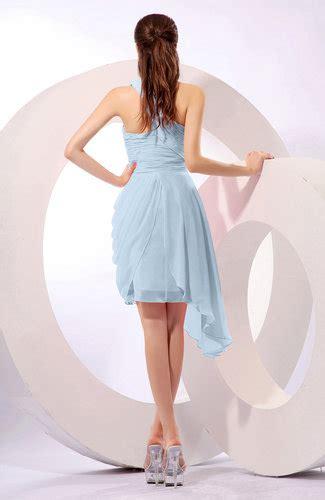 Plain Asymmetric Sleeveless Dress blue plain a line asymmetric neckline sleeveless