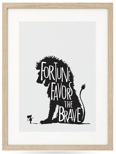 fortune favors the brave besotted