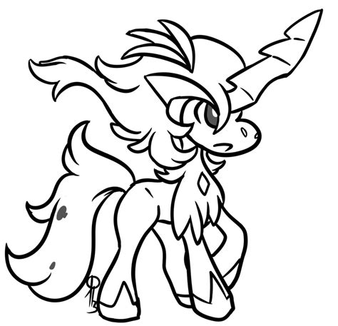 Coloring Pages Of Pokemon Keldeo | pokemon keldeo coloring pages images pokemon images
