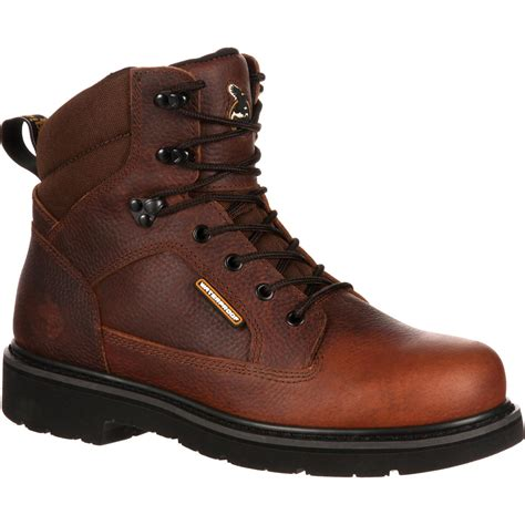 boots for mens work safety toe waterproof work boot glennville gb00034
