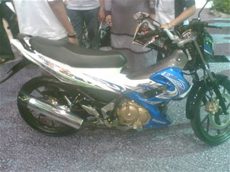 Sticker Motor New Satria Fu 150 Hoonigan 06 Spec A Striping Motor gambar modifikasi motor warna warna suzuki satria baru