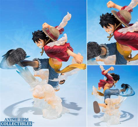 Bandai Figuarts Zero Monkey D Luffy One Gold Limited bandai figuarts zero one monkey d luffy gum gum hawk whip figure anime 3pm collectibles
