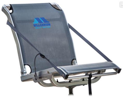 millennium comfort max fold down mesh seat premier series - Mesh Boat Seats
