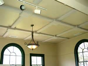 Coffered Ceiling Fan Better Room Acoustics For Listening Rooms With Tubetraps