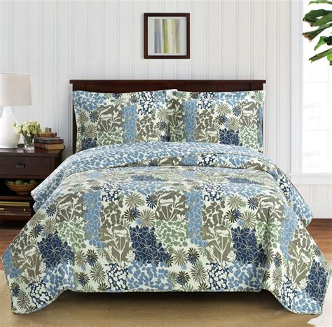 king or california king size oversized coverlet 3 pc