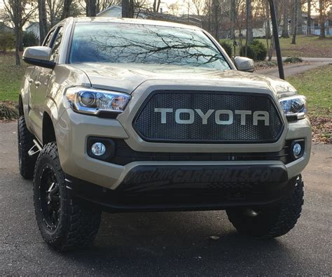 Toyota Tacoma Grill Custom Mesh Grills For Toyota Vehicles By Customcargrills