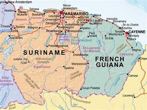south america guiana highlands map maps september 2012