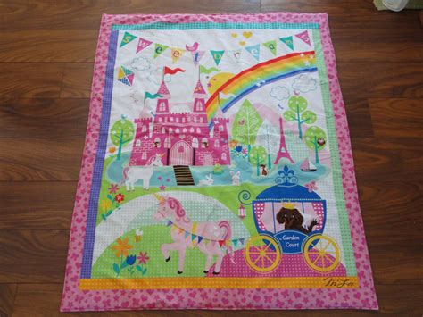 Handmade Baby Quilt Patterns - handmade baby quilts princess castle ebay