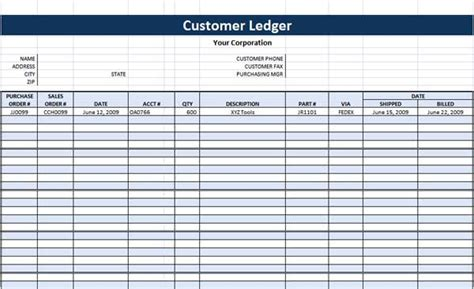 business ledger template excel free search results for free printable ledger template