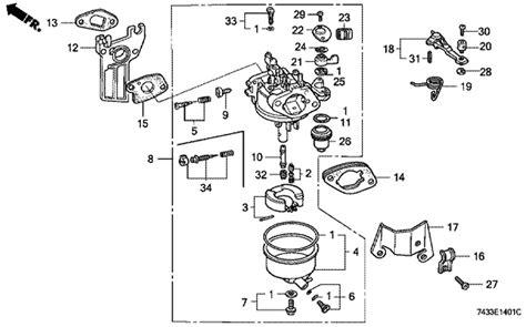 honda gx200 carburetor diagram honda gcv160 pressure washer parts diagram wiring diagrams