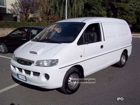 Shock Bagasi Hyundai H1 1pc hyundai h 1 2 5 2003 technical specifications interior and exterior photo