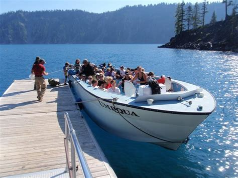 boat tour at crater lake picture of crater lake national - Boat Tour Crater Lake
