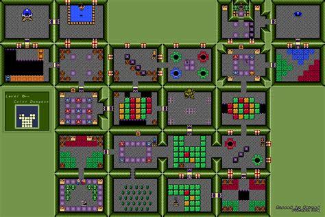 legend of zelda gameboy map revned s video game maps the legend of zelda link s