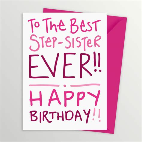 Step Birthday Quotes Step Sister Quotes Quotesgram