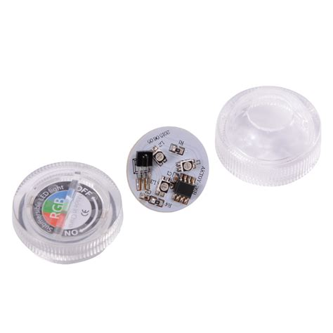 battery operated submersible led lights remote control smd3528 rgb submersible led lights cr2032