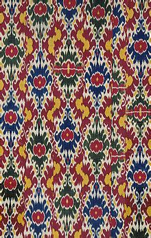 design textile definition ikat wikipedia