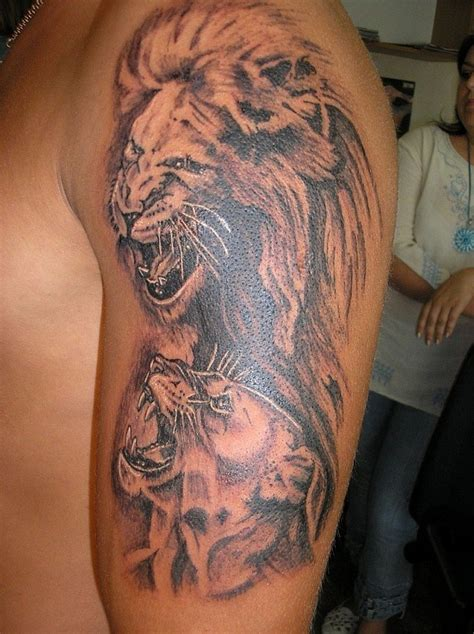 lion tattoo picures images page 3