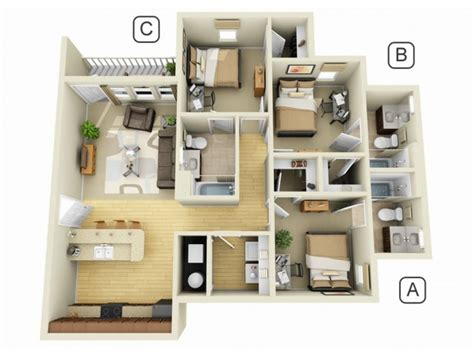home living design quarter cus quarters luxury student apartment floor plans