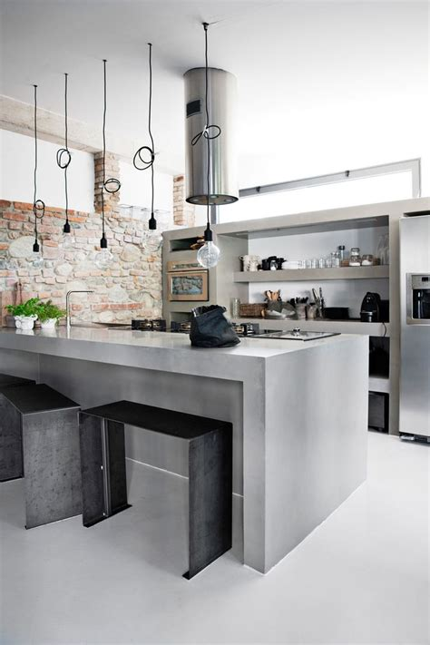 concrete kitchen design 25 best ideas about concrete kitchen on