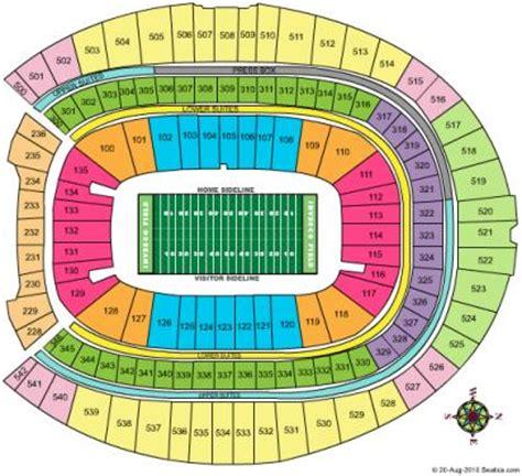 denver broncos stadium seating chart invesco field seating chart invesco field u2 seating