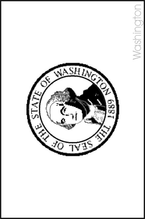 washington state flag coloring pages usa for kids