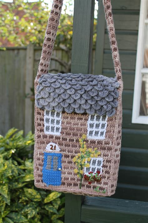 crochet thread bag pattern the crochet cottage bag pattern the twisted yarn