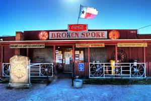The Broken Spoke Places In To Take Two Left For Two Step
