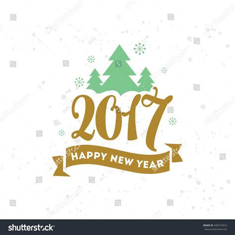happy new year design vector happy new year 2017 text design vector logo typography