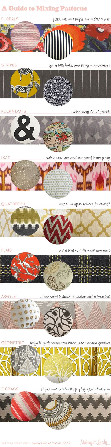 mixed patterns a guide to mixing patterns in your home making it lovely