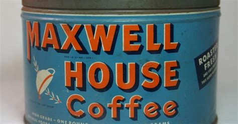 vintage style new kitchen and coffee cans on pinterest vintage coffee can maxwell house good to the last drop