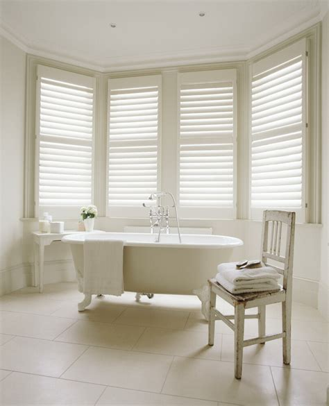 Interior Shutters For Windows Inspiration Bathroom Inspiration Plantation Shutters On Shutters Tubs And Bathroom