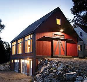 Barnhouses barn with tuck under garage home exteriors pinterest