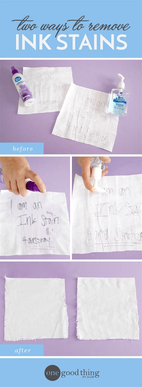 how to remove ink stains from clothing with no effort one good thing by jillee