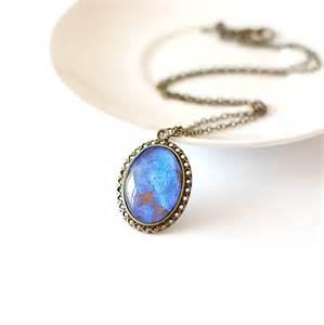 Lapis lazuli necklace by juju treasures notonthehighstreet com